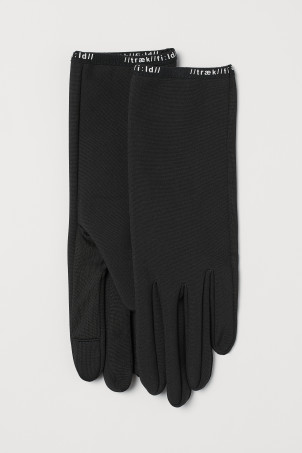 Windproof running gloves