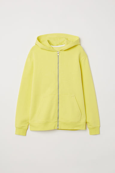 Hooded Jacket - Yellow - Kids | H&M CN