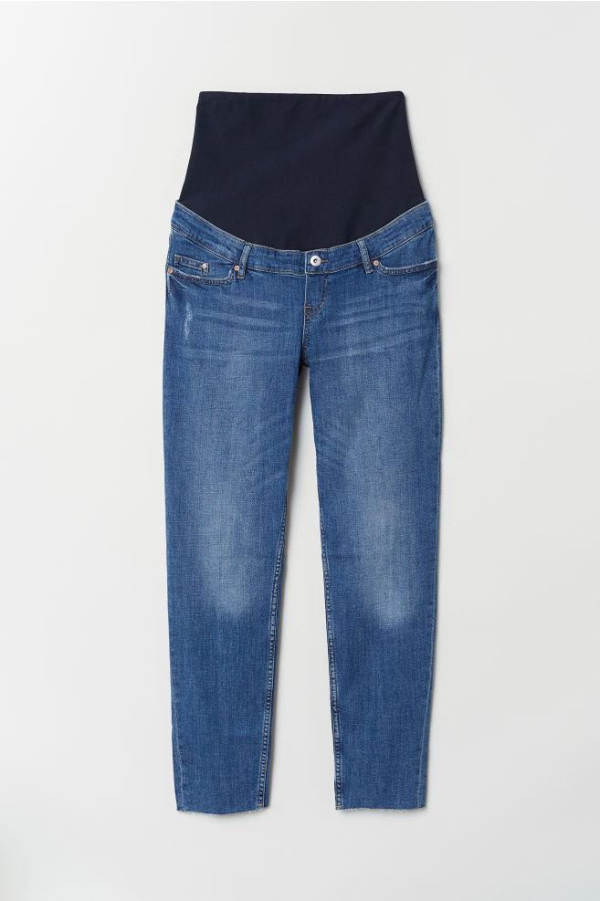 7c5108163ed0 MAMA Boyfriend Jeans - Blu denim - DONNA | H&M ...