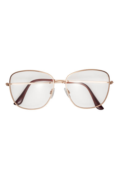 Glasses - Gold-coloured -  | H&M IE