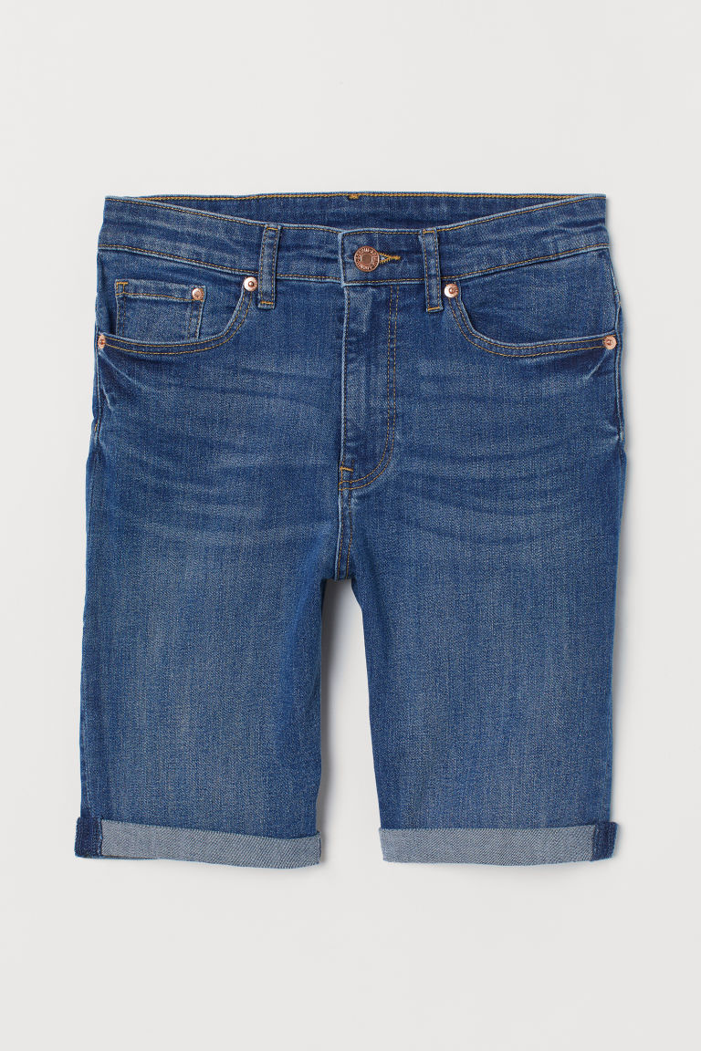 Short en jean - Bleu -  | H&M BE