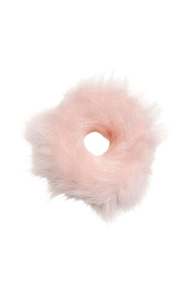 Gumička do vlasů - Pudrově růžová - ŽENY  2a2f7a4955