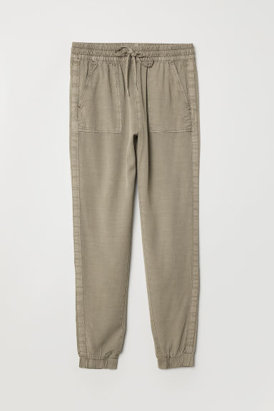 Pantaloni pull-on - Verde kaki - DONNA | H&M IT