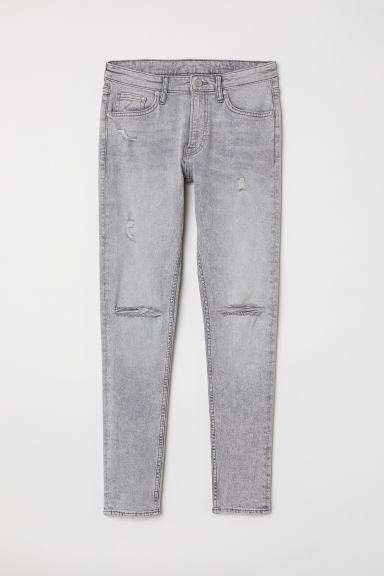 Super Skinny Jeans - Light grey - Men | H&M CN