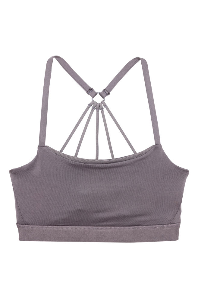 90a855a267791 Sports Bra Low support - Taupe - Ladies