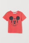 Light red/Mickey Mouse