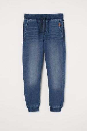 Joggers in denim Super SoftModello