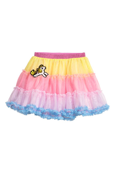 Tulle skirt - Pink/My Little Pony - Kids | H&M