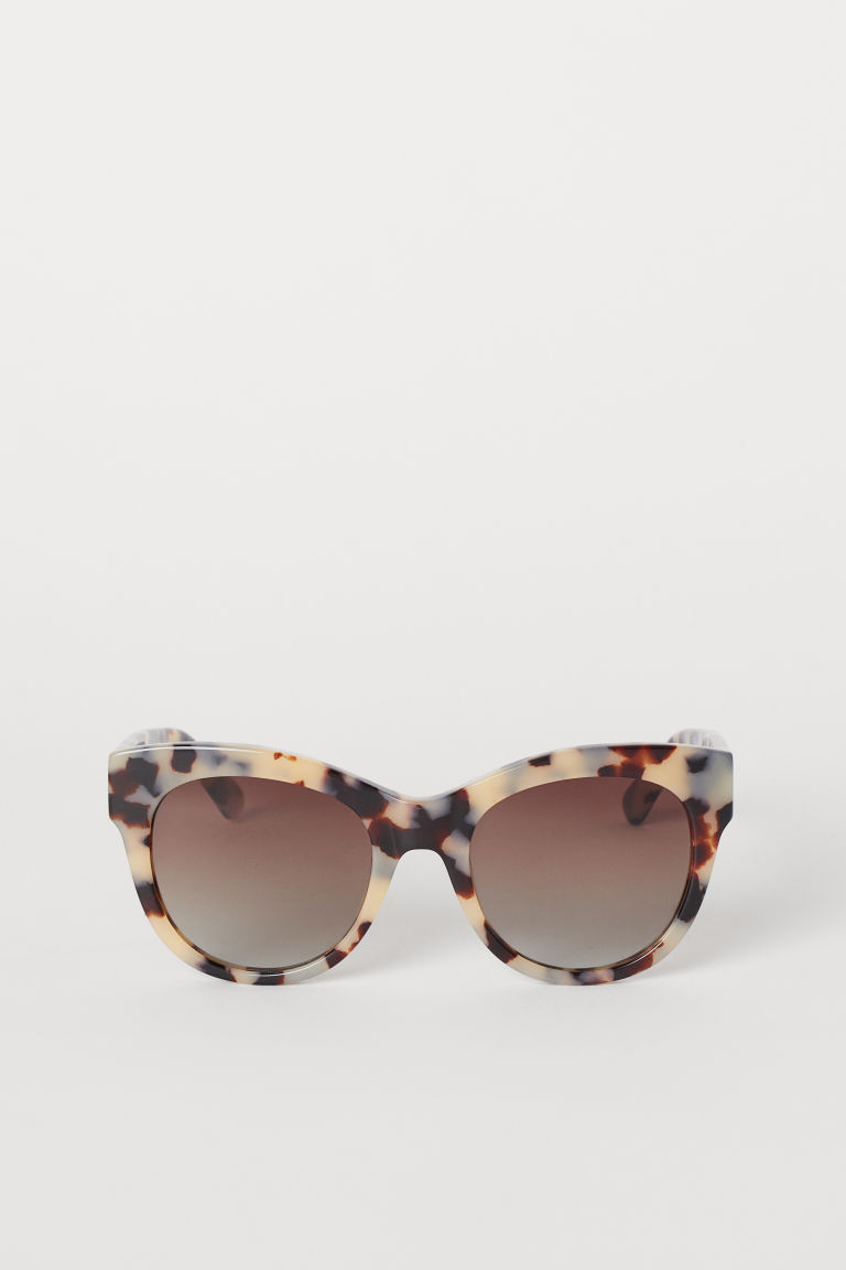 Polarized Sunglasses - Beige/tortoiseshell-patterned -  | H&M CA