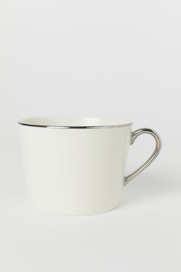 Mugg i porslin - Vit - Home All | H&M SE