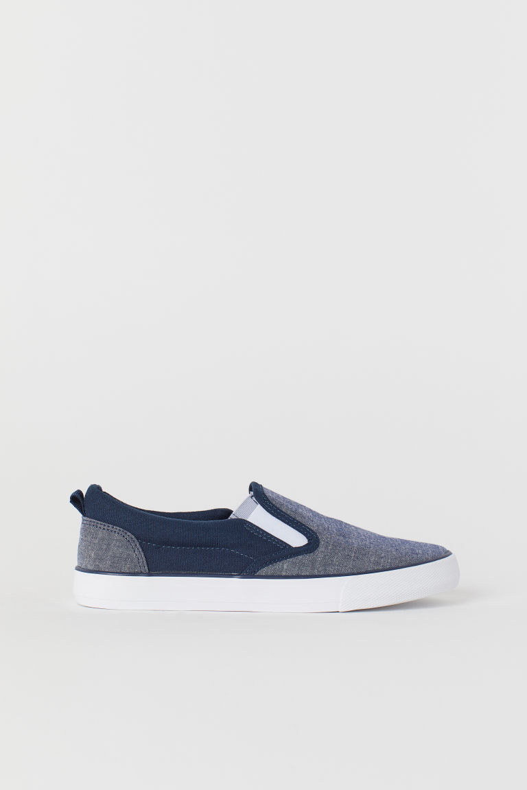 Sneakers slip-on - Blu/chambray - BAMBINO | H&M CH
