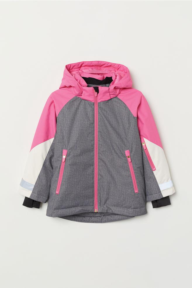 6db1a0a44 Ski Jacket - Gray melange - Kids