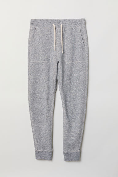 Joggers - Light grey marl - Men | H&M