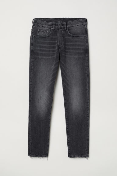 Skinny Cropped Jeans - Gri-închis -  | H&M RO