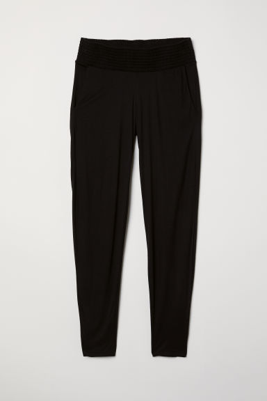 MAMA Jersey trousers - Black - Ladies | H&M CN