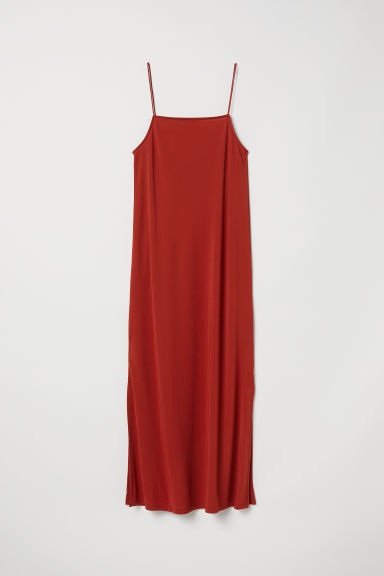 Calf-length dress - Rust - Ladies | H&M
