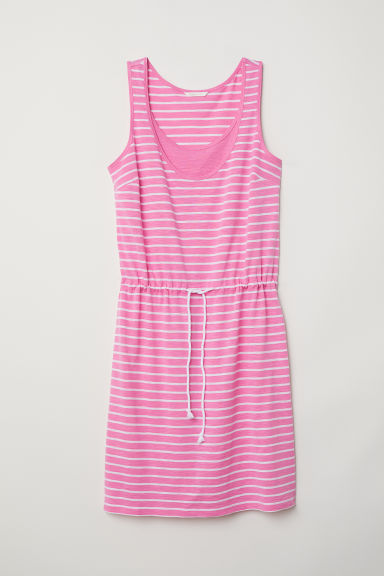MAMA Nursing dress - Pink/Striped - Ladies | H&M CN