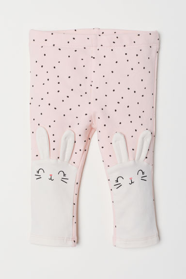 Leggings - Pink/Spotted - Kids | H&M