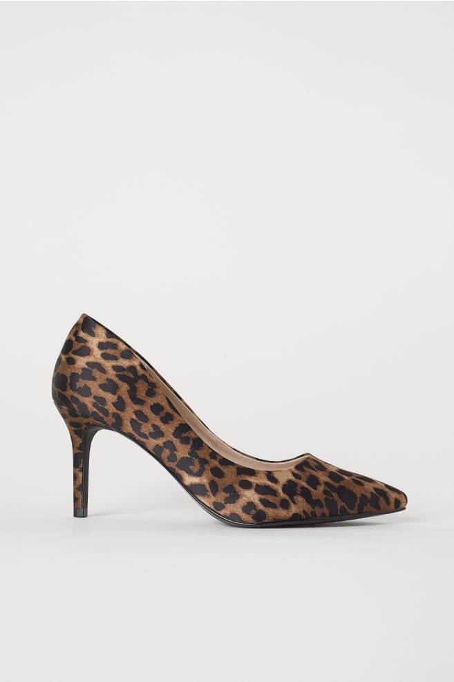 2ca78e5492c Court shoes - Brown Leopard print - Ladies