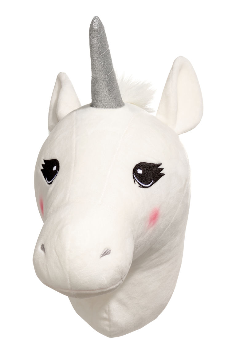 Wall decoration - White/Unicorn - Home All | H&M GB