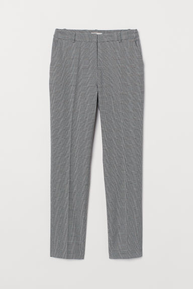 Suit trousers - Grey/Checked - Ladies | H&M GB