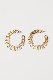 Gold-plated Earrings - Gold-colored - Ladies | H&M US 1