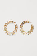 Gold-plated Earrings - Gold-colored - Ladies | H&M US1