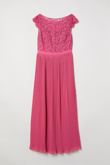 H&M+ Chiffon dress - Pink - Ladies | H&M