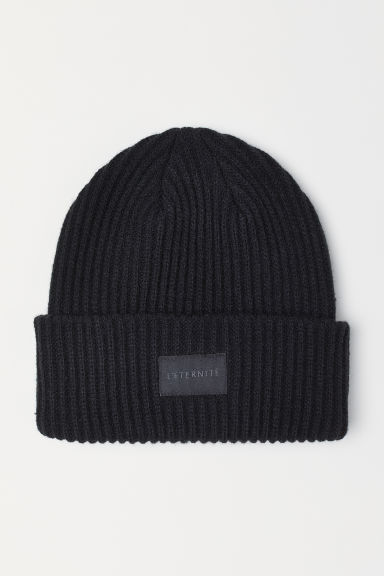 Ribbed hat - Black - Ladies | H&M