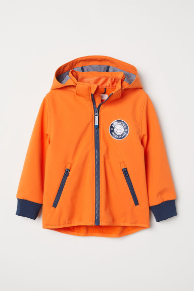 Softshell jacket - Orange - Kids | H&M