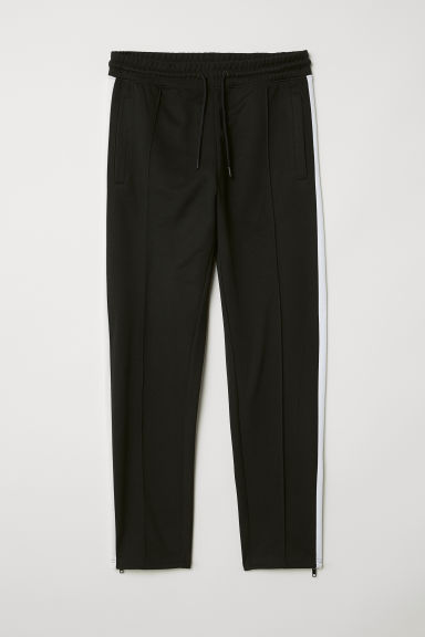 Sports trousers - Black/White -  | H&M IE