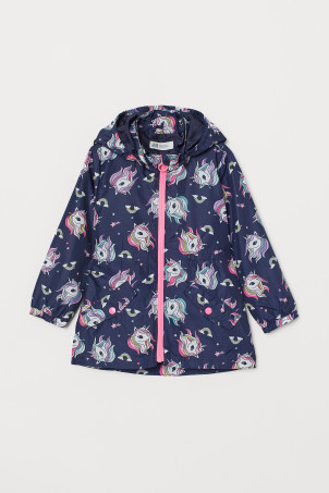 Patterned windbreaker