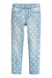 Light denim blue/Spotted