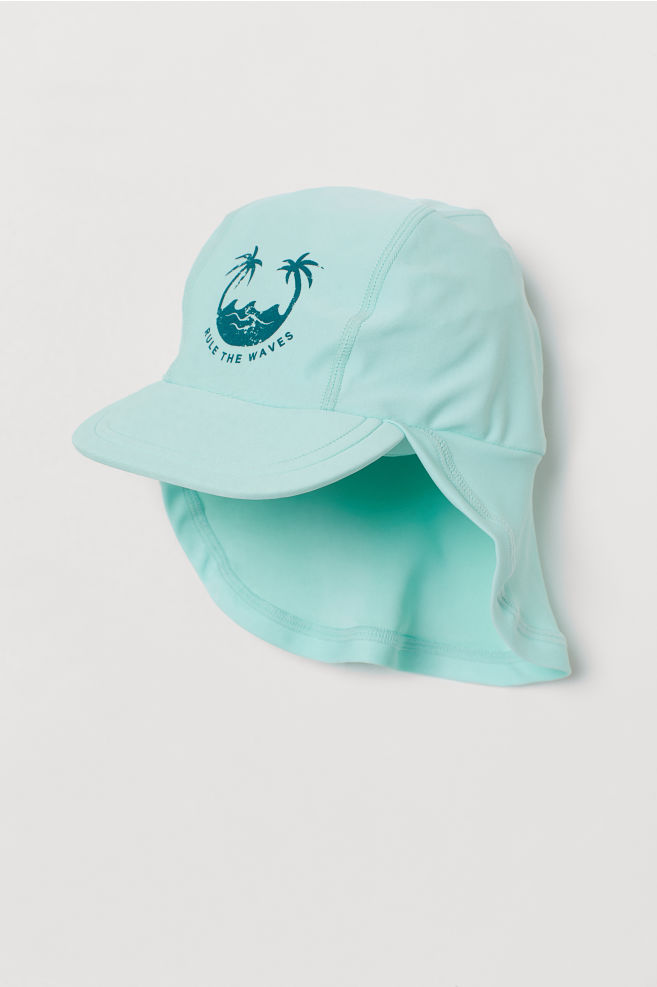 Sun cap with UPF 50 - Mint green - Kids  561775421be