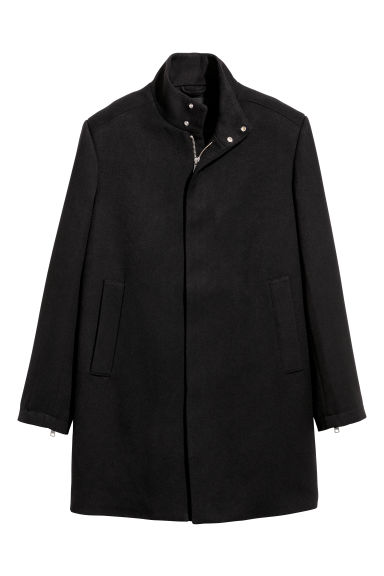 Short coat - Black -  | H&M CN