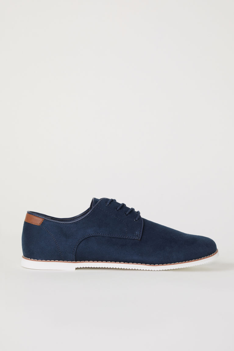 Derby shoes - Dark blue -  | H&M CN