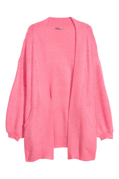 H&M+ Mohair-blend cardigan - Pink - Ladies | H&M