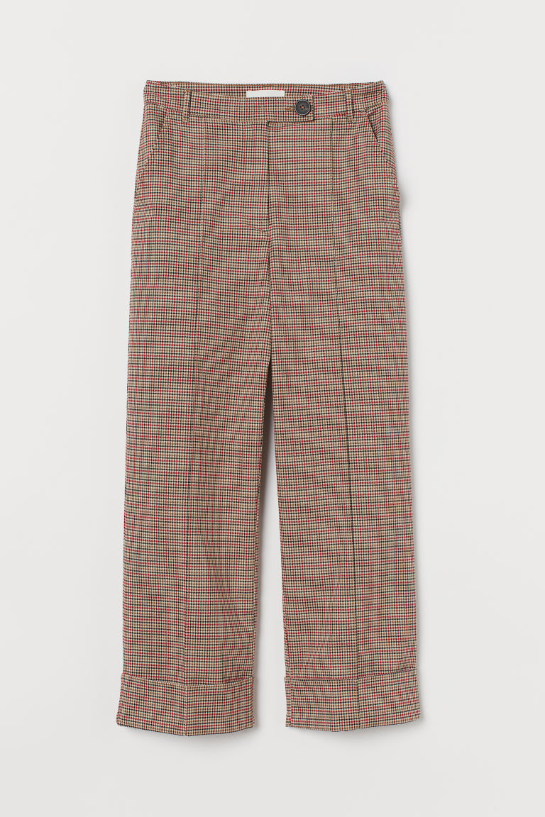 Straight Twill Pants by H&M