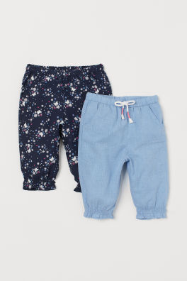 038d5e15917277 Baby Girl Pants & Leggings - Comfy and stretchy | H&M US