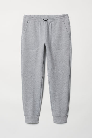 Jersey sports joggers - Grey marl - Men | H&M