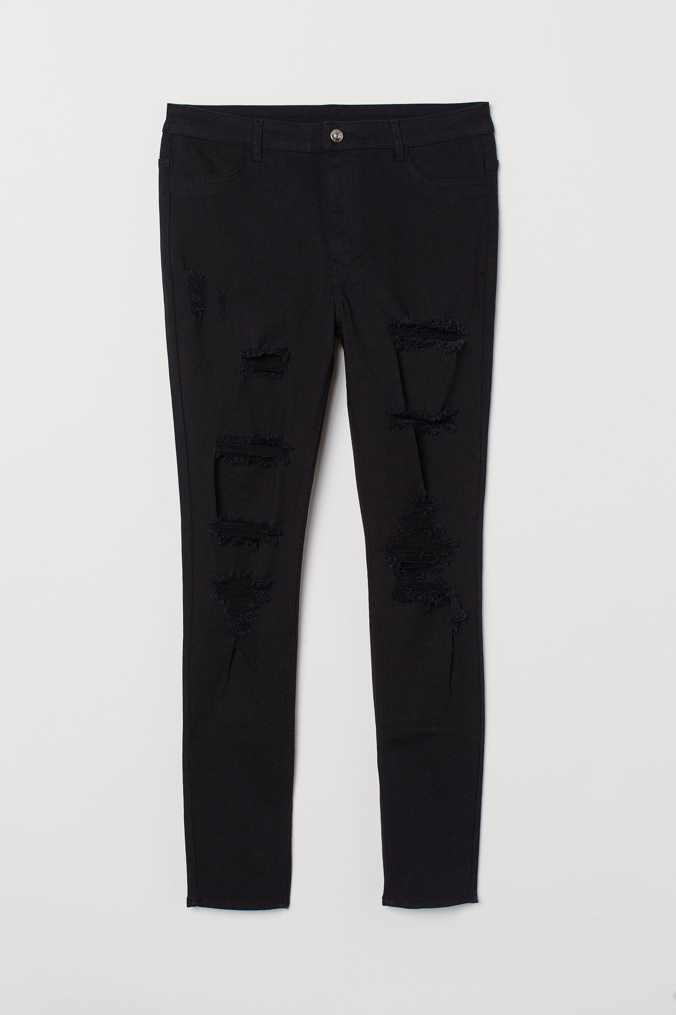 9a236136bb H&M+ Skinny High Waist Jeans - Black - Ladies | H&M US