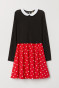 Rood/Minnie Mouse