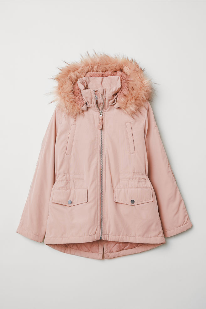 dfcd9b830 Padded Parka - Light pink - Kids