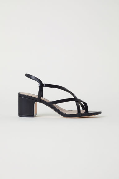 Sandali - Nero - DONNA | H&M IT