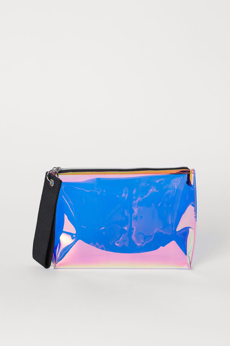 Holographic Makeup Bag - Pink/holographic - Ladies | H&M US