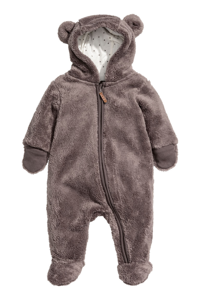 Pile all-in-one suit - Mole - Kids | H&M