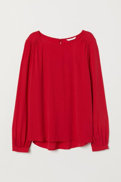 H&M - Blusa en tejido de crepé - 5