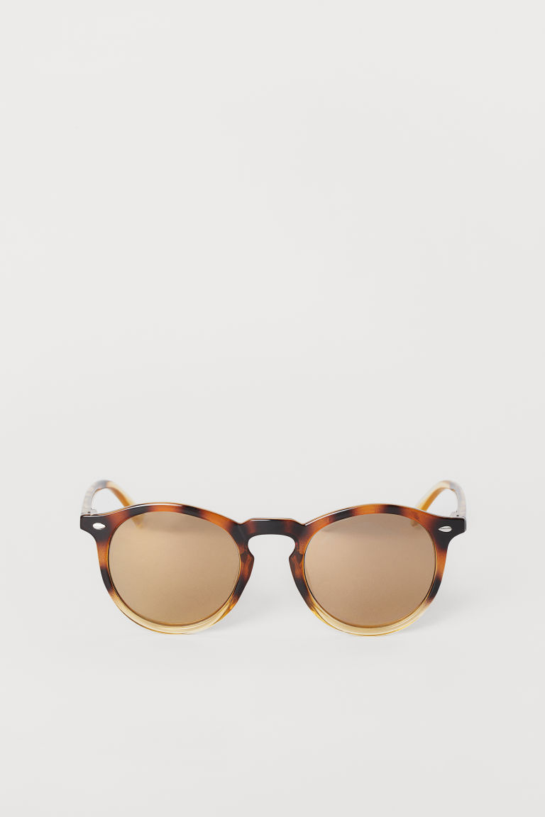 Lentes de sol - Café/Estampado - Men | H&M MX