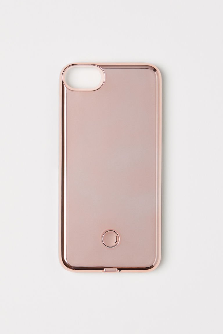 Cover iPhone 6/7 per selfie - Rosa/metallizzato - DONNA | H&M IT