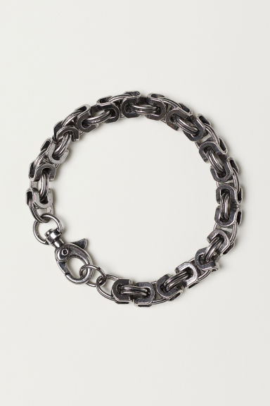 Metal bracelet - Silver-coloured - Men | H&M